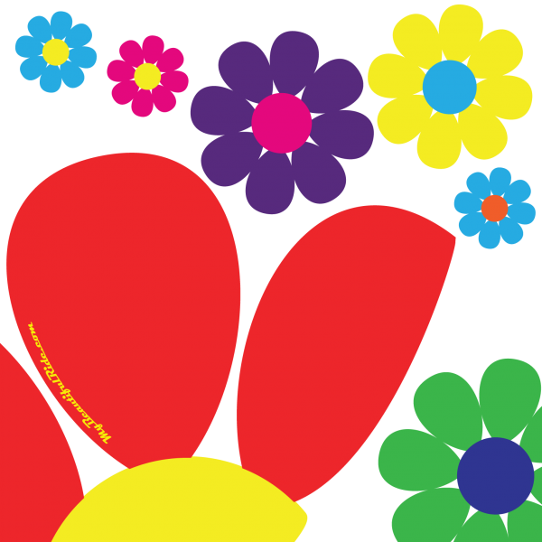 Close-Up-Flower-Power-Hippie-Dippie-daisy-custom-decal