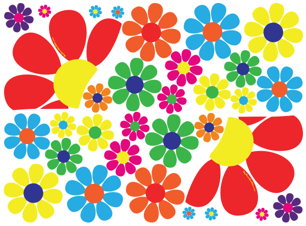 Driver-Passenger-Set-Flower-Power-Hippie-Dippie-daisy-decal